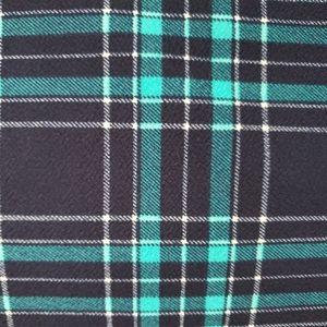 3x plaid cassie skirt
